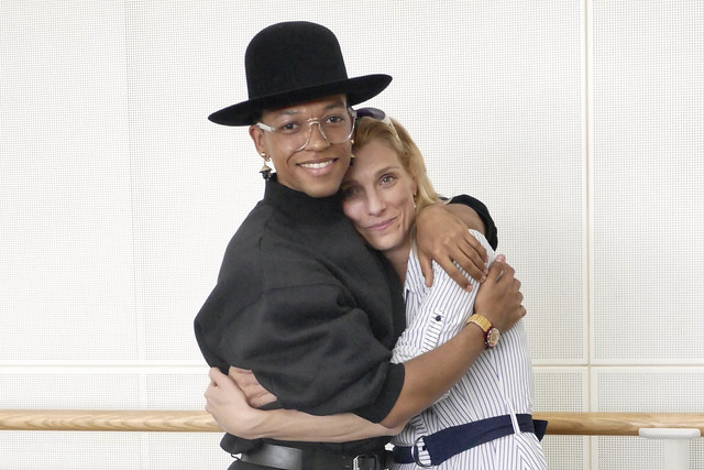 Solomon Golding and Zenaida Yanowsky. Photograph by Rachel Hollings, 2017