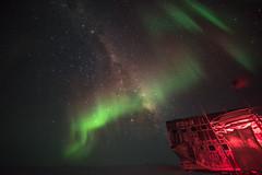 Milky Way at South Pole