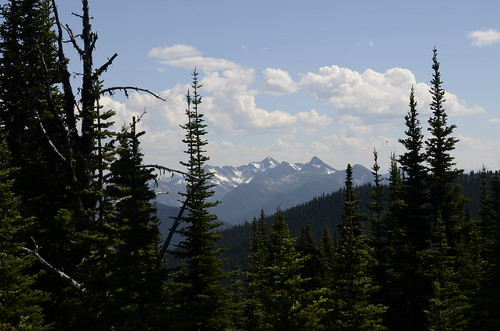 Manning Park view of snowy peaks