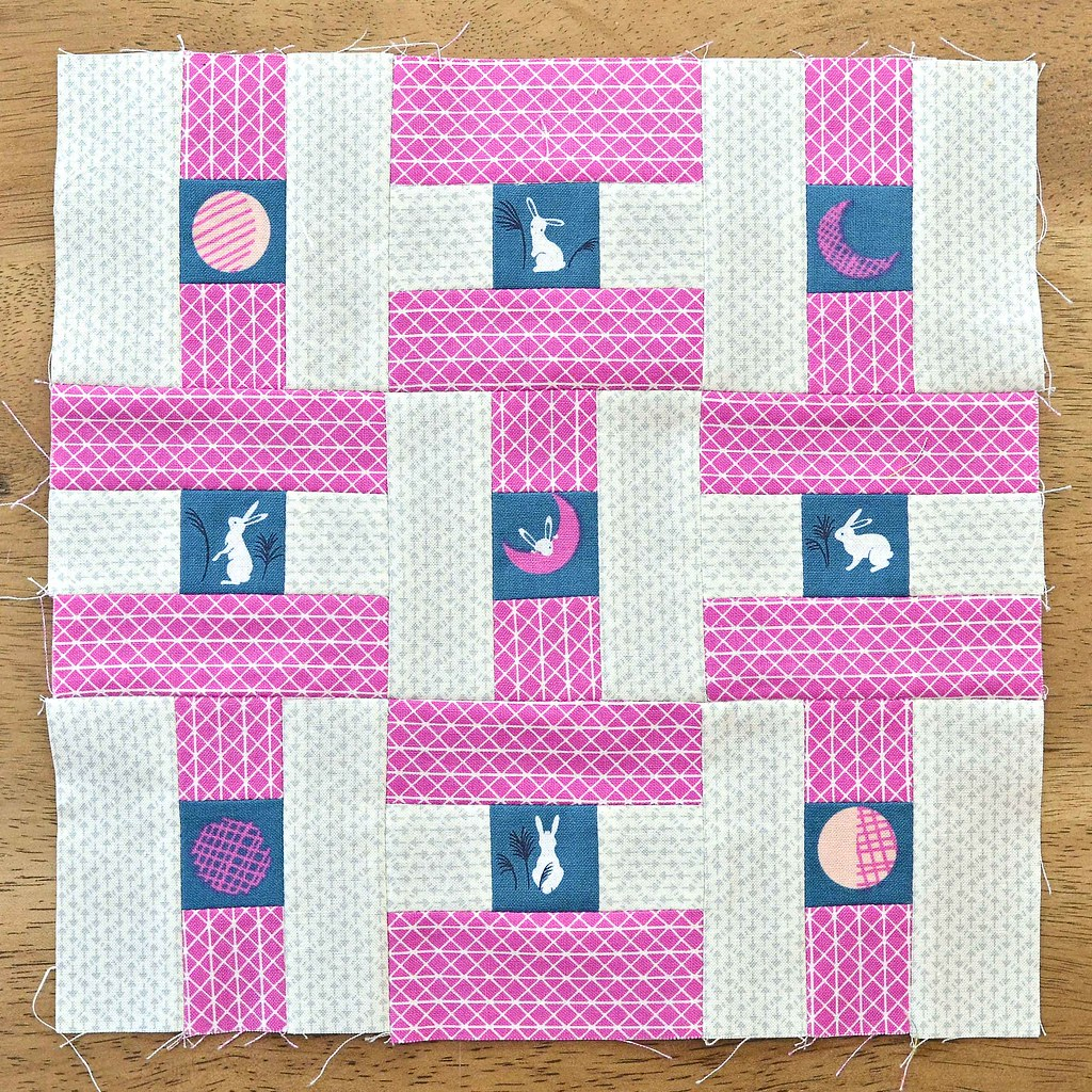 The Fussy Cut Sampler Block # 40