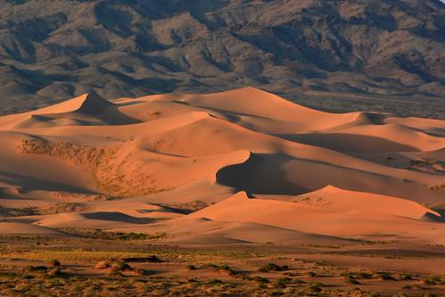 mongolia gobi desierto desert dunas dunes amanecer sunrise