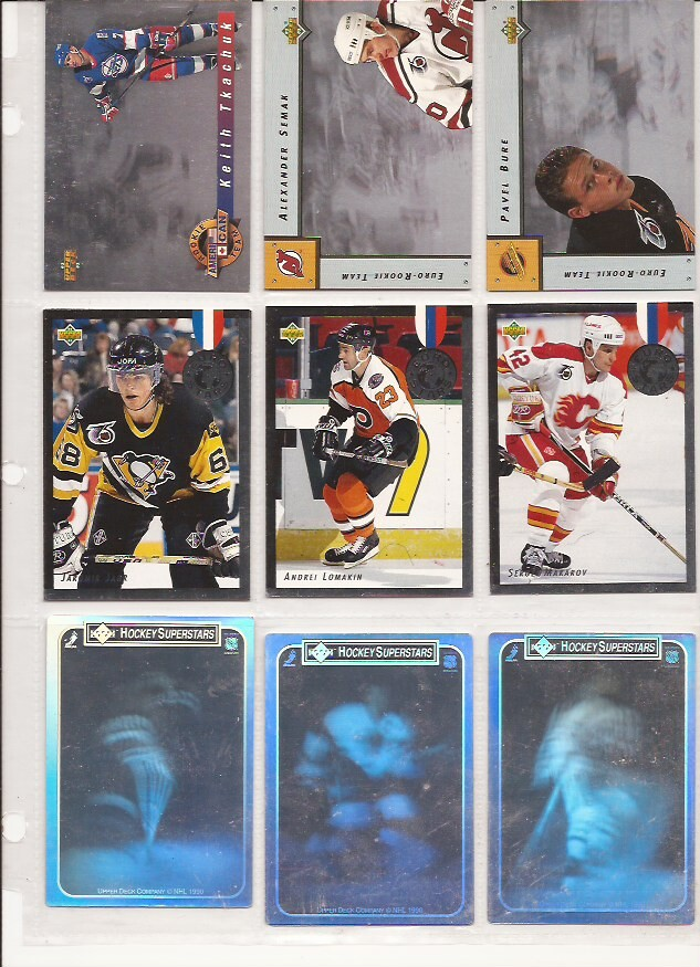 ALL NEW* 7/20 Huge 90's and 00's Hockey Inserts/Parallels
