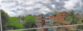 On a noon in front of my balcony july 2015