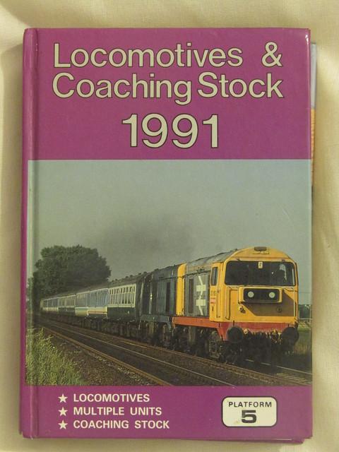 Platform 5: Locomotives & Coaching Stock 1991, Canon POWERSHOT SX410 IS