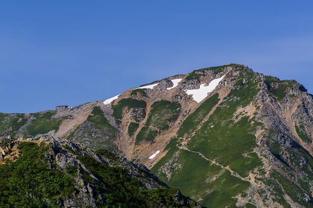 大天井岳と大天荘