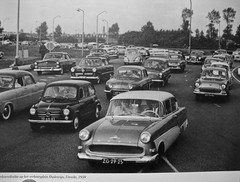 Traffic Circle Oudenrijn 1959