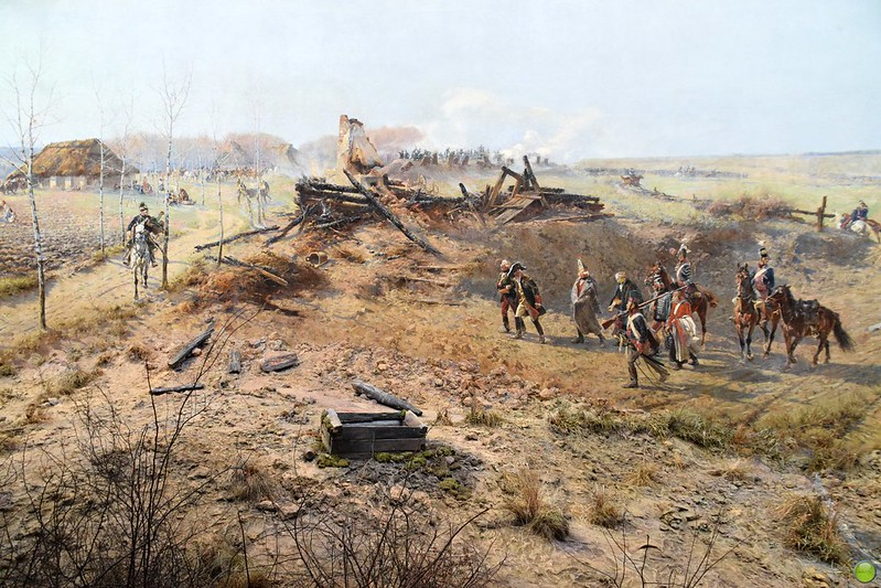 Panorama of the Battle of Racławice (3/11)