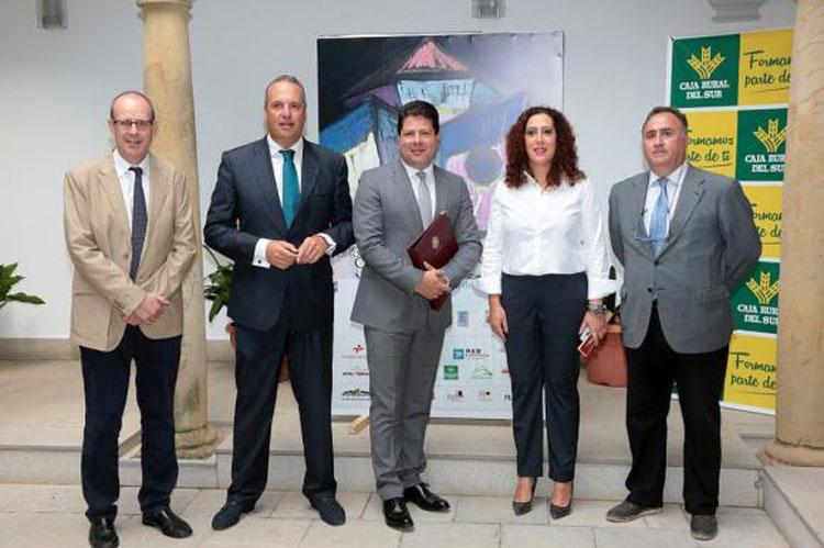 (De i. a d.) Jesús Verdú, Juan Carlos Ruiz Boix, Fabián Picardo, Dolores Marchena  y Alejandro del Valle (Medium)2