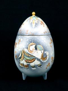 Sascha Brastoff Egg
