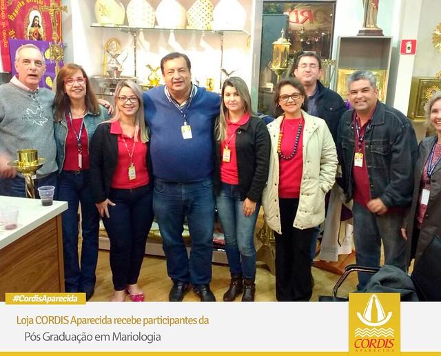 Cordis Aparecida recebe participantes da Pós Graduação em Mariologia
