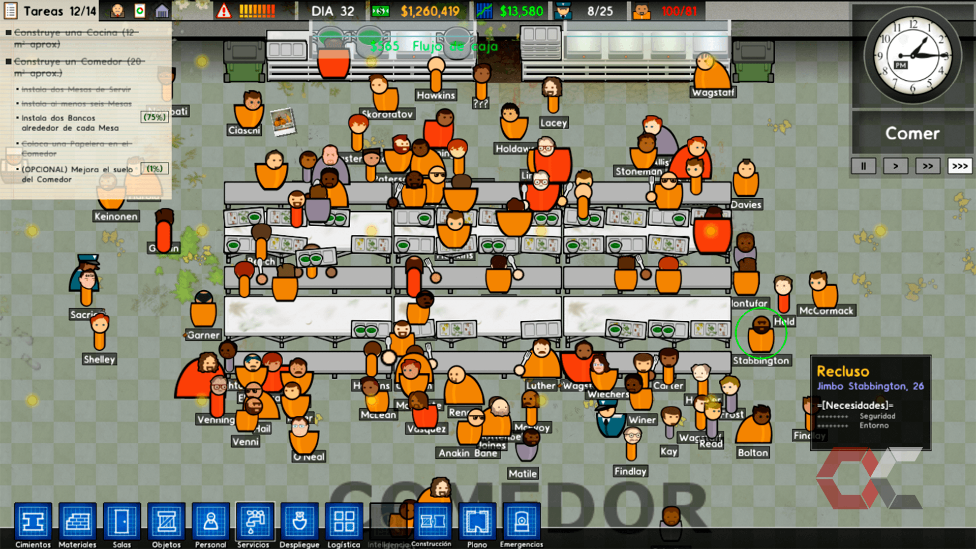 prison architect review - overcluster 10