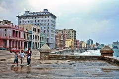 El Malecón, Havana, Cuba, September 2001