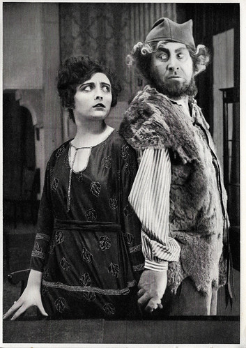Pola Negri and Emil Jannings in Vendetta (1919)