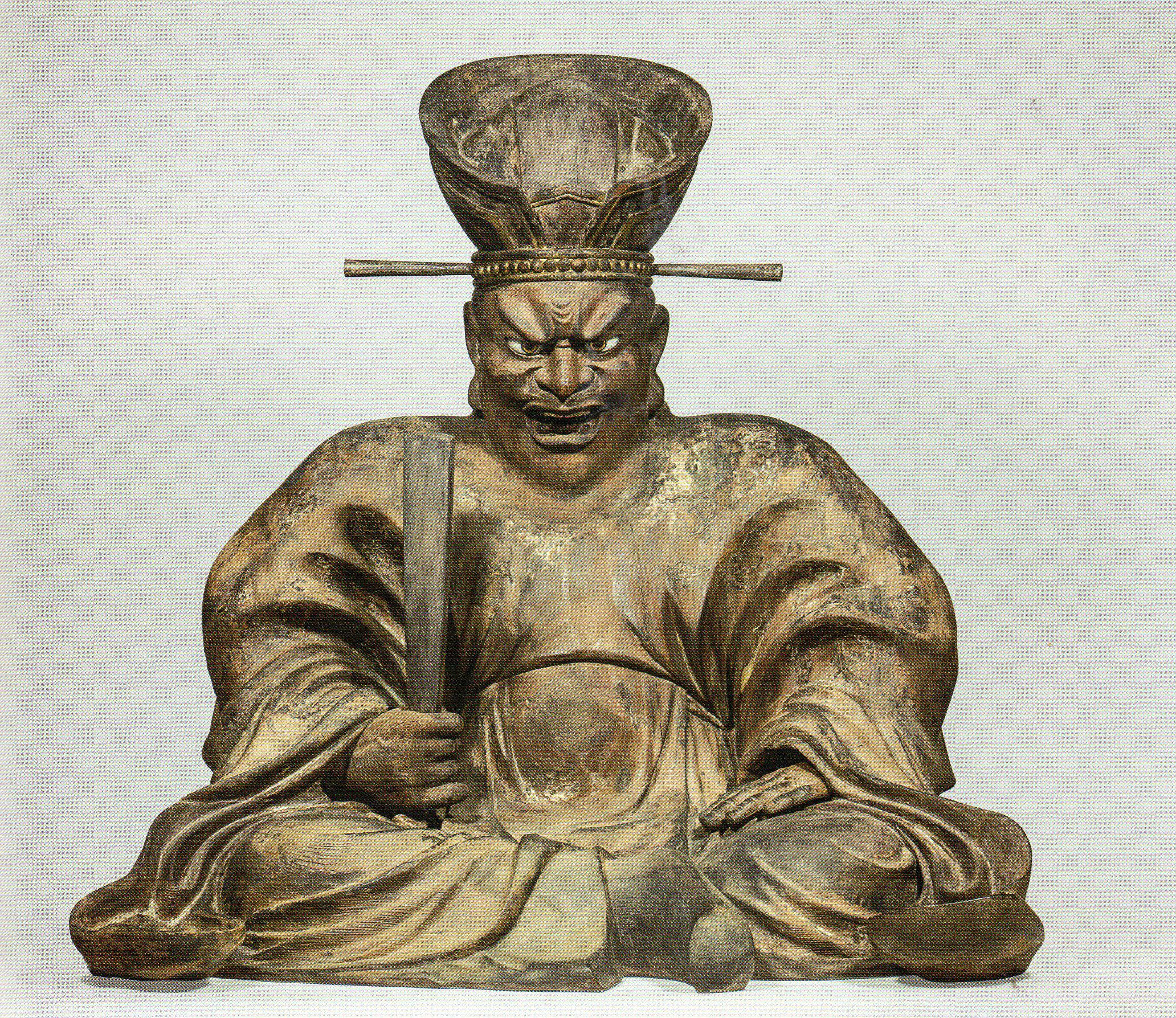 重要文化財《閻魔王坐像》(鎌倉時代、東大寺)