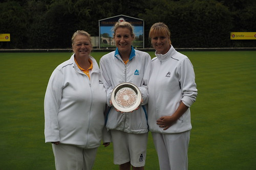 Ladies triples champions 2017