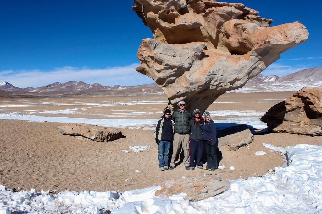 Dalí ørkenen i Bolivia