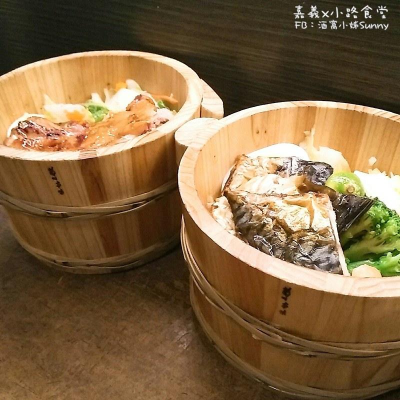 嘉義x小路食堂(木桶便當)