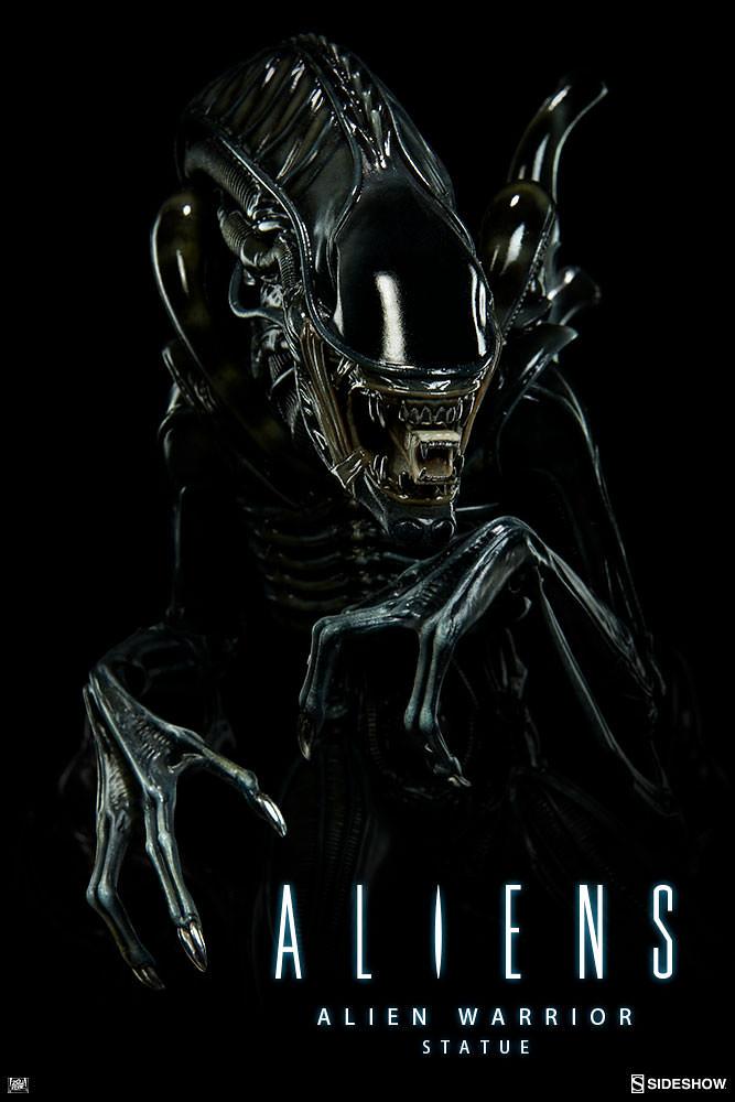 宇宙最霸氣的狩獵者?!Sideshow Collectibles【異形戰士】Alien Warrior 雕像作品
