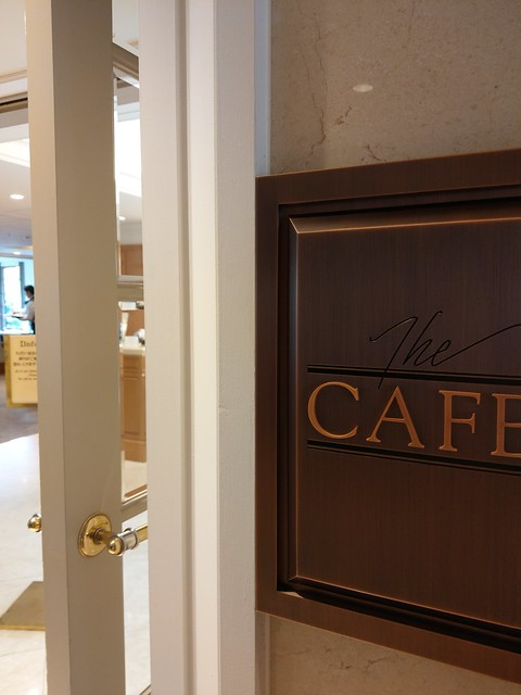 the Cafe at Hotel New Grand
