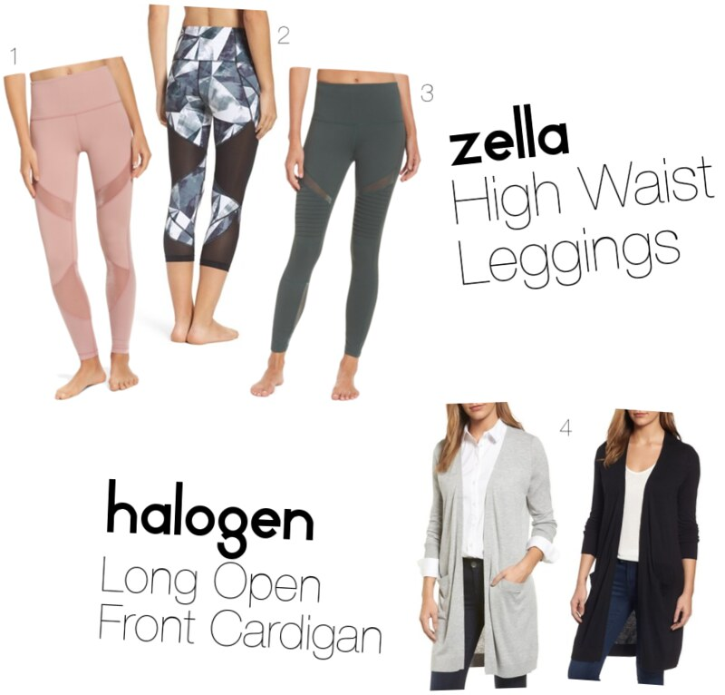 10 Items That Are Actually Worth Buying from the Nordstrom Anniversary + a $500 Giveaway Zella High Waist Leggings Halogen Long Open Front Cardigan