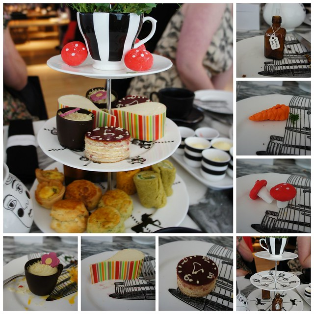 Afternoon Tea Collage