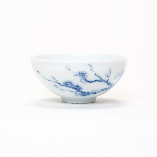 Tasse Blue China Cherry Blossom