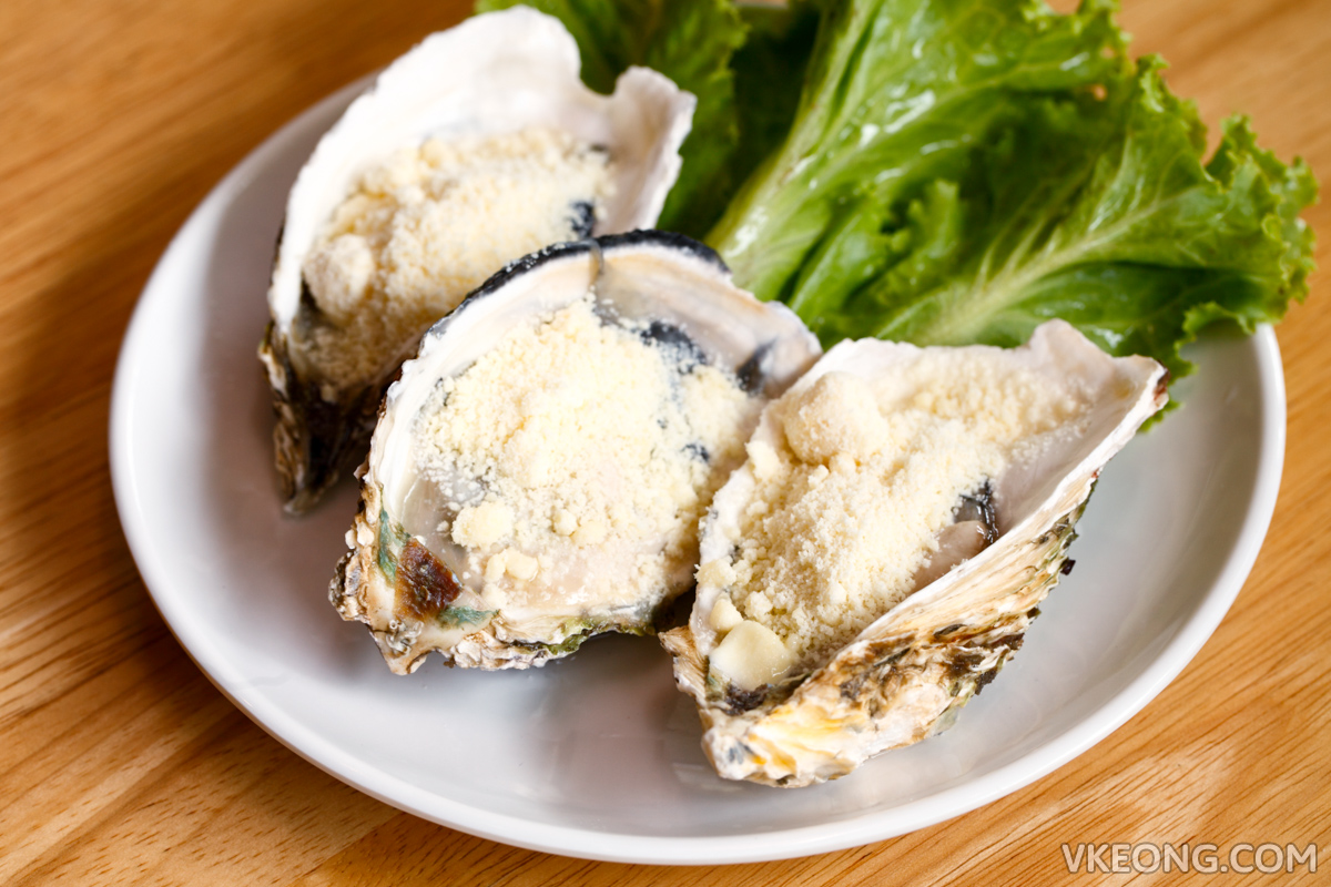 Korean Oyster with Cheese Powder