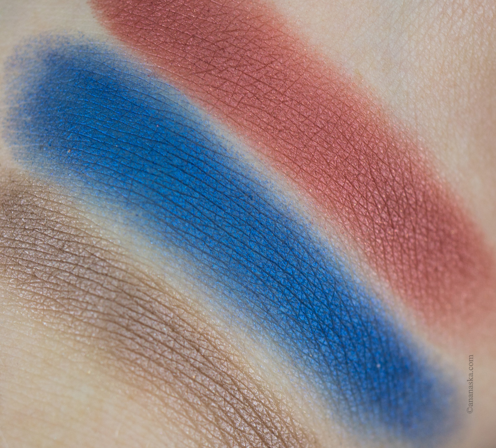 Chanel Ombre Premiere: 14 Talpa, 16 Blue Jean, 36 Desert Rouge
