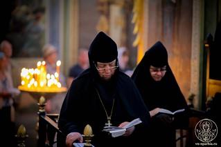 Литургия в Иверском монастыре 290