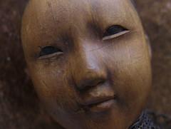 """LUCE_wood """"Door of Hope doll""""_1901"""