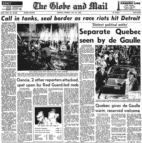 gm 1967-07-24 front page
