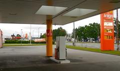 INGO right next door to another INGO petrol station - Hello Herlew !