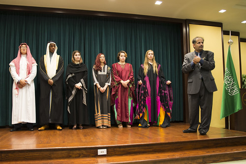INTL Students Hear From Foreign Service Officer, Visit Saudi Arabian Embassy