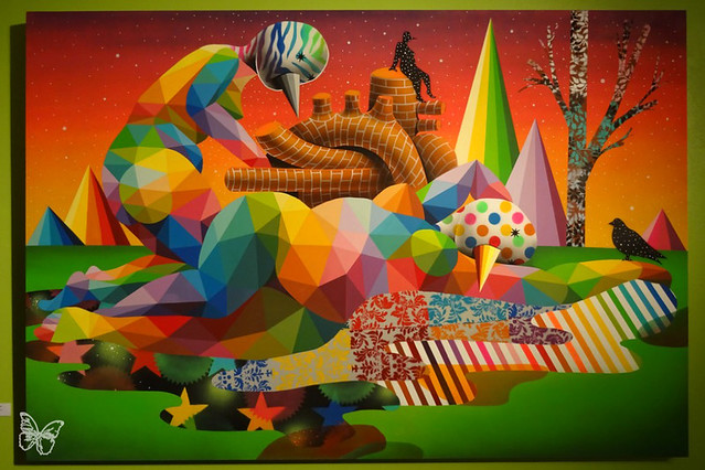 Okuda - The dream of Mona Lisa