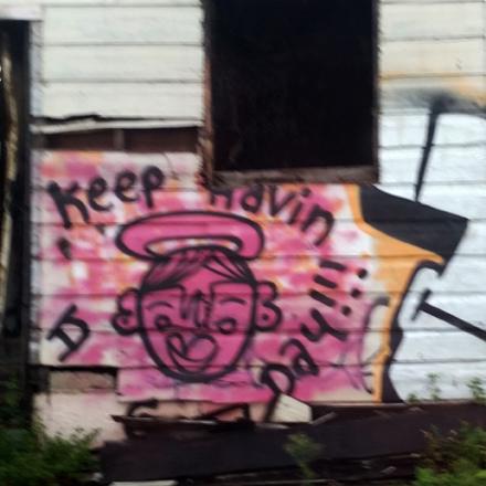 Upbeat Graffiti