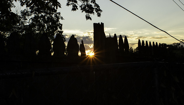 Sunset, Canon EOS REBEL T2I, Canon EF 28mm f/1.8 USM