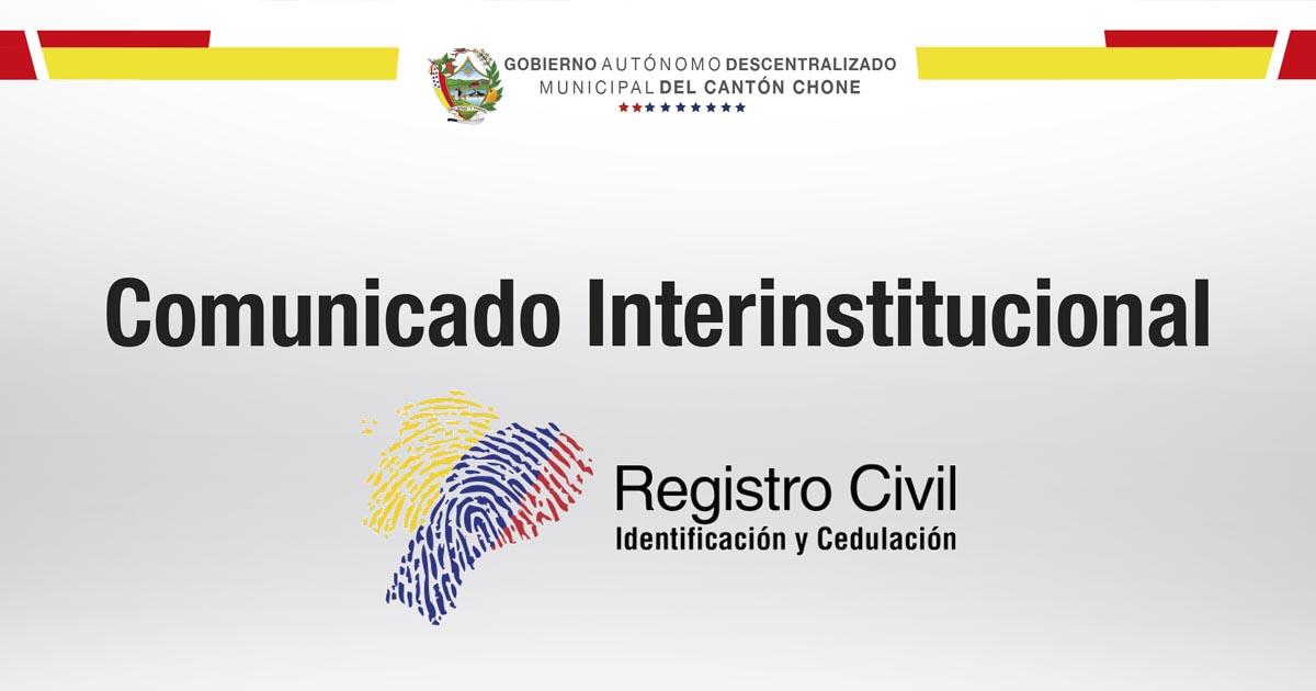 Registro Civil con nuevo canal de servicios