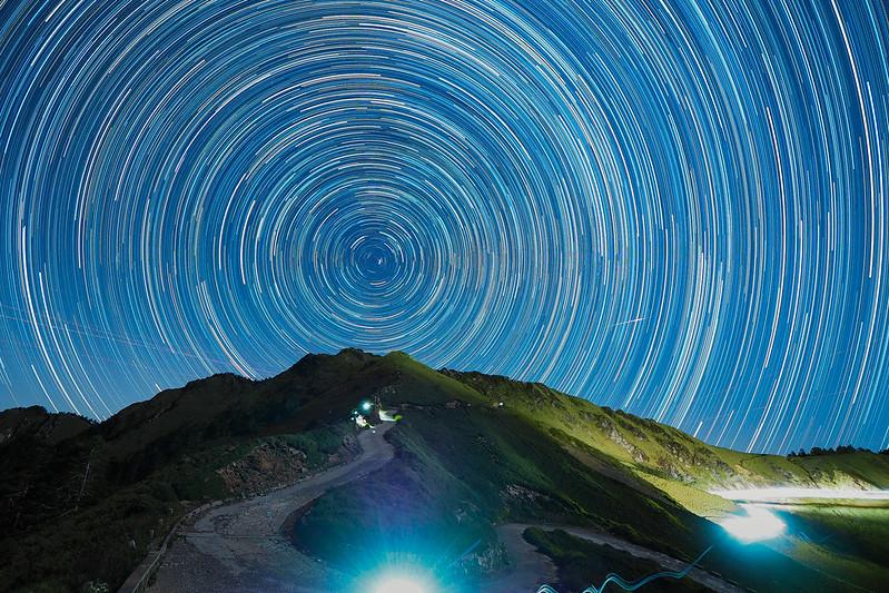 合歡山催眠曲|Taiwan startrails