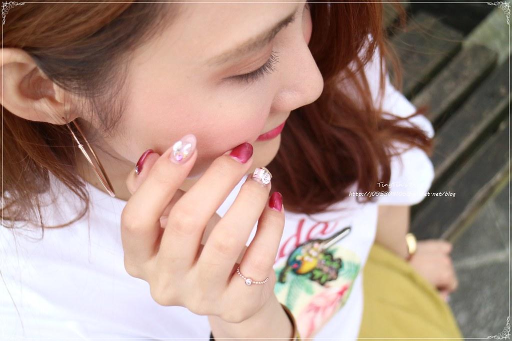 LA REINE菈韓娜東區指甲 貓眼石 (15)