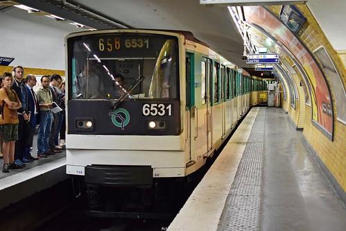 RATP Paris Métro   Line 6, MP73 6531 - Charles de Gaulle – Étoile