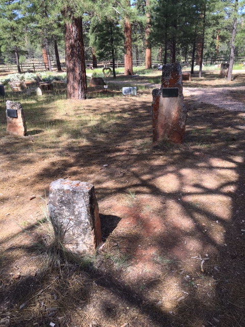 No Vacancy At Grand Canyon Cemetery