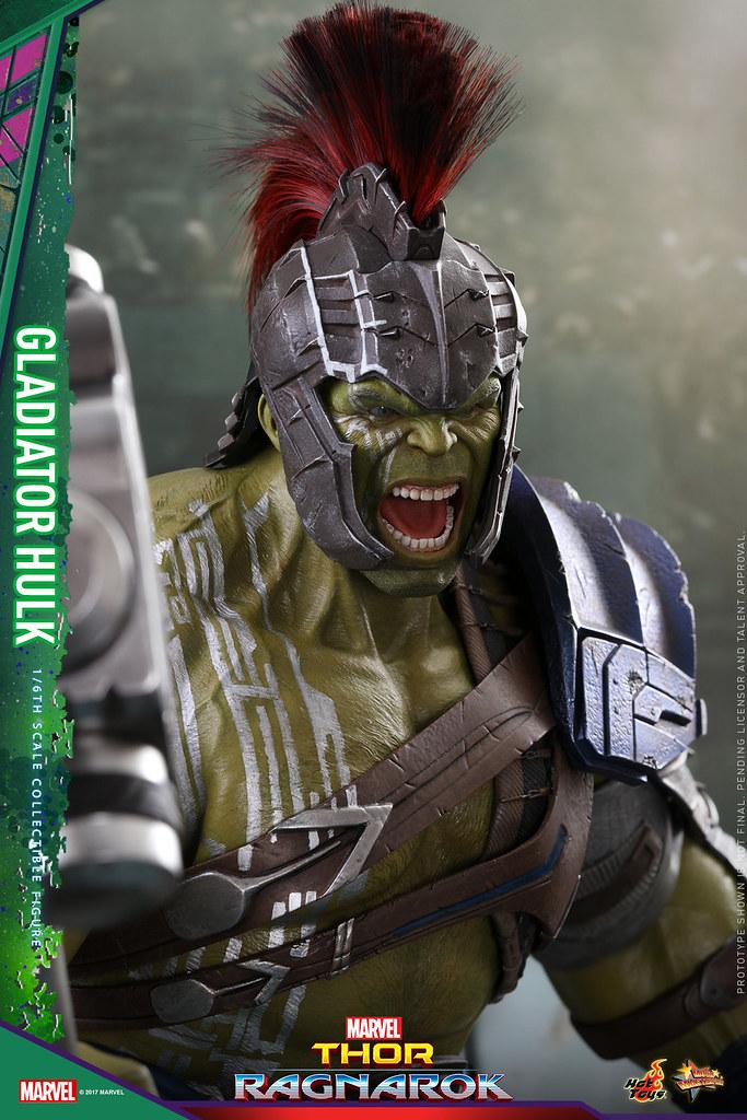 Hot Toys - MMS430 - 《雷神索爾3:諸神黃昏》1/6 比例 【角鬥士浩克】Thor: Ragnarok Gladiator Hulk