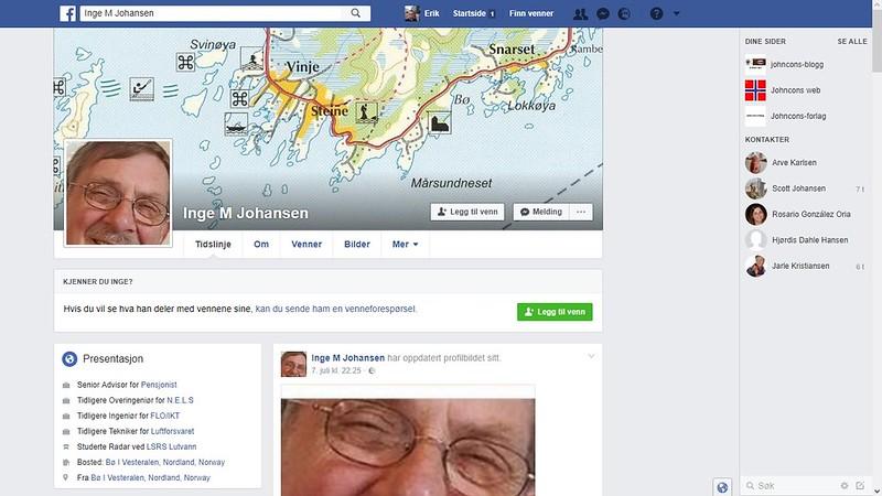 facebook johansen