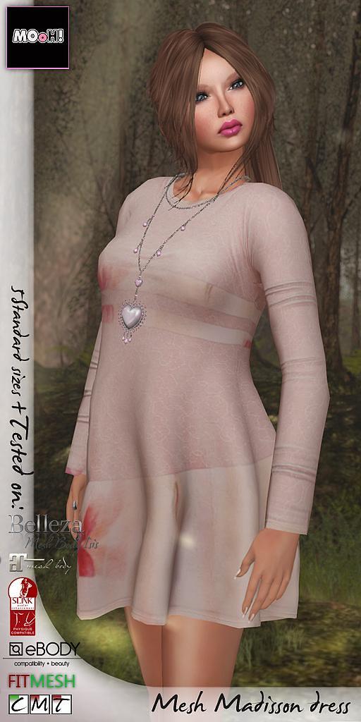 Madisson dress - SecondLifeHub.com