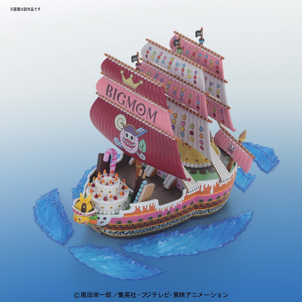 《海賊王》偉大的海賊船系列【BIG MOM 海賊船】ビッグ・マムの海賊船 QUEEN-MAMA-CHANTER