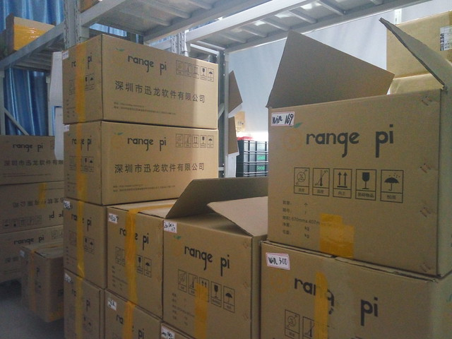 Welcome in Orange Pi in Shenzhen