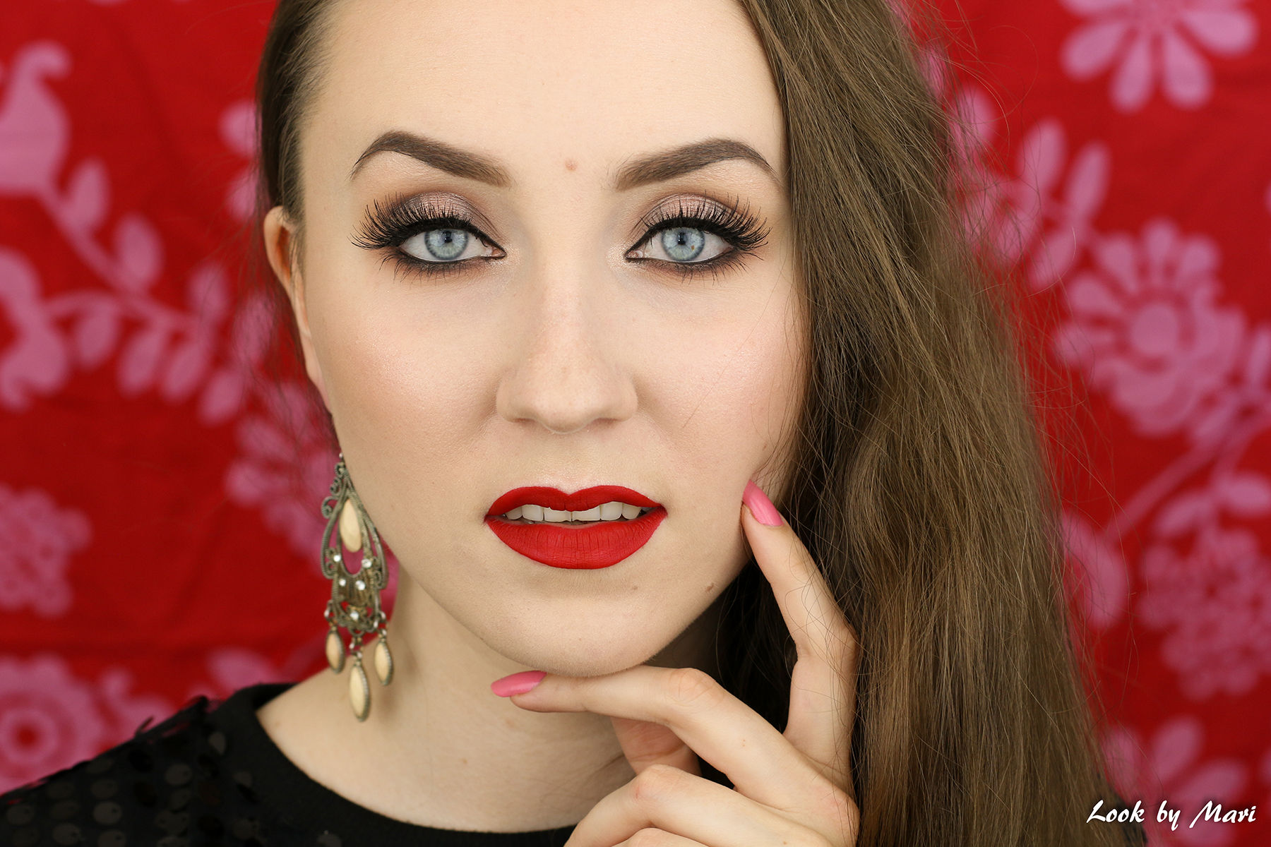 6 classic makeup tutorial look eye makeup smoky eye red lip blog tutorial