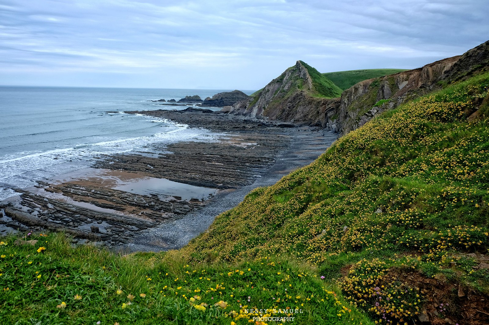 Speke's Mill Mouth, Hartland, | Devon - England UK