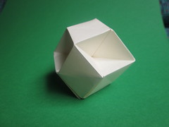 Jun Maekawa's Dual Modular Concave Rhombic Dodecahedron