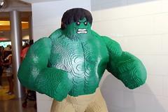 Disney World: Disney Springs - LEGO Store - The Incredible Hulk